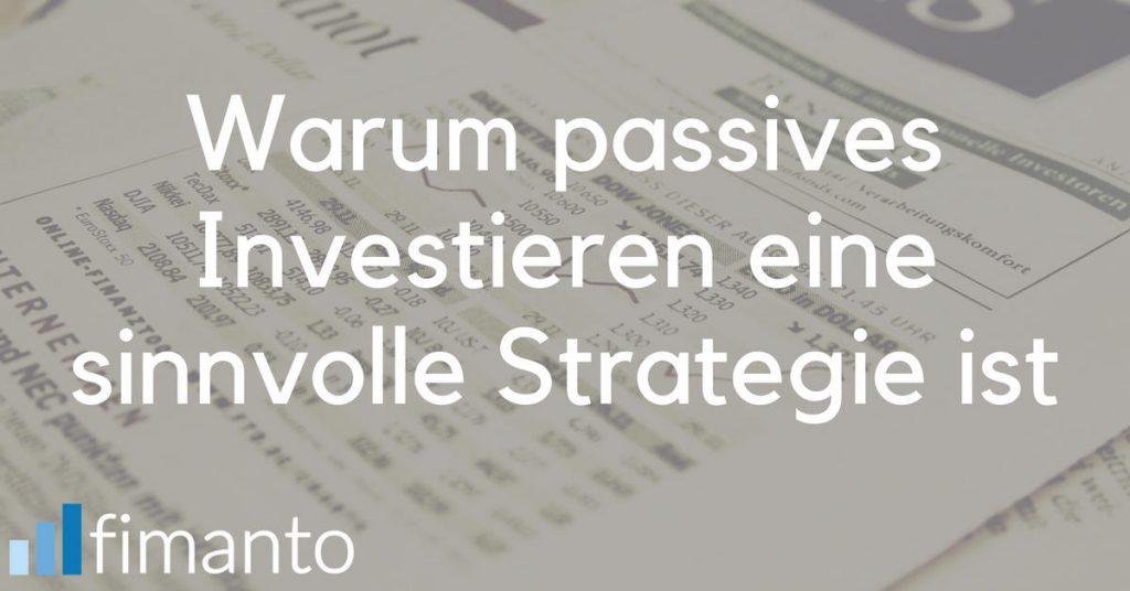Social passives Investieren