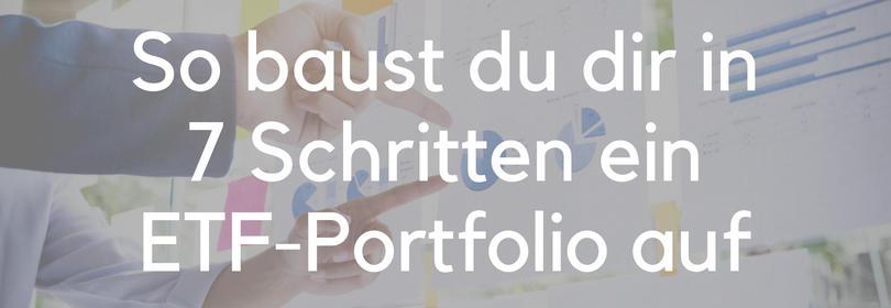 ETF-Portfolio ETF Strategie