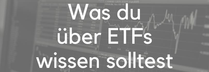 ETF einfach erklärt Indexfonds