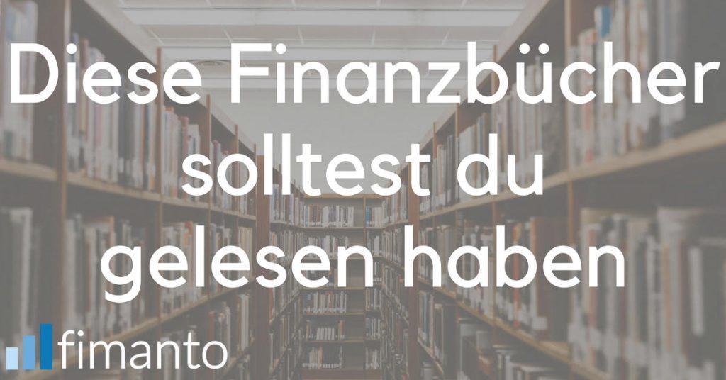 Finanzbücher Buch-Tipps Finanzen Social