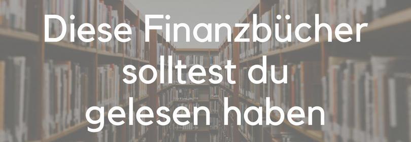 Finanzbücher Buch-Tipps Finanzen besten Bücher