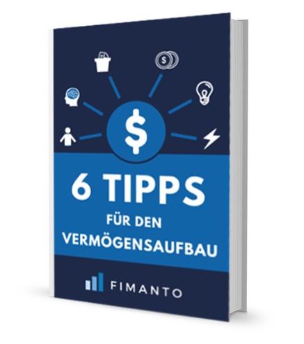 E-Book Cover Tipps für dem Vermögensaufbau Fimanto
