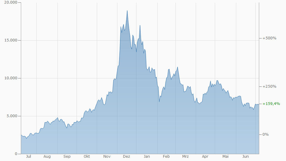 Tulpenmanie Tulpenblase Bitcoin Spekulationsblase Vergleich